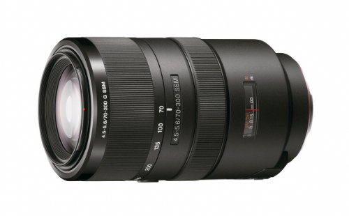 Sony SAL70300G Alpha 70-300mm F4.5-5.6 Telephoto Zoom Lens