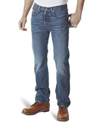 Levi's - 501, Jeans da uomo, blu (1307/hook), 33W / 30L