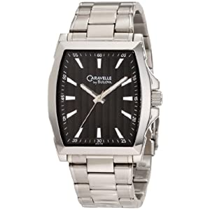 Caravelle by Bulova Men's 43A103 Classic Silvertone Watch