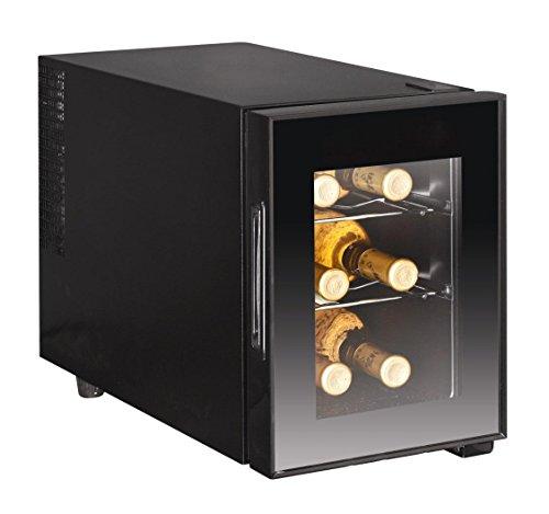 6-Bottle Wine Cooler, Glass Door (Small Bottle Fridge compare prices)