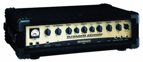 Behringer BX4500H Ultrabass 450W Bass Amplifier Head