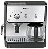 Krups XP2010 Combination Unit; 10 cup Coffee Maker & 15-bar Pump Espresso Discount