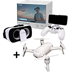 YUNEEC Breeze Quadrocopter + FPV und Controller KIT - Game Controller und FPV-Headset inklusive der Breeze 4K Drohne