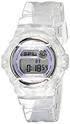 Casio Baby-G Digital Blue Dial Womens Watch - BG-169R-7EDR