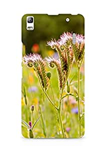 Amez designer printed 3d premium high quality back case cover for Lenovo K3 Note (Weeds life)