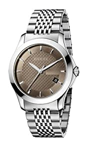 Gucci Men's YA126406 Gucci Timeless Watch from Gucci