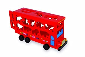 Legler ABC Bus Preschool Learning Toys