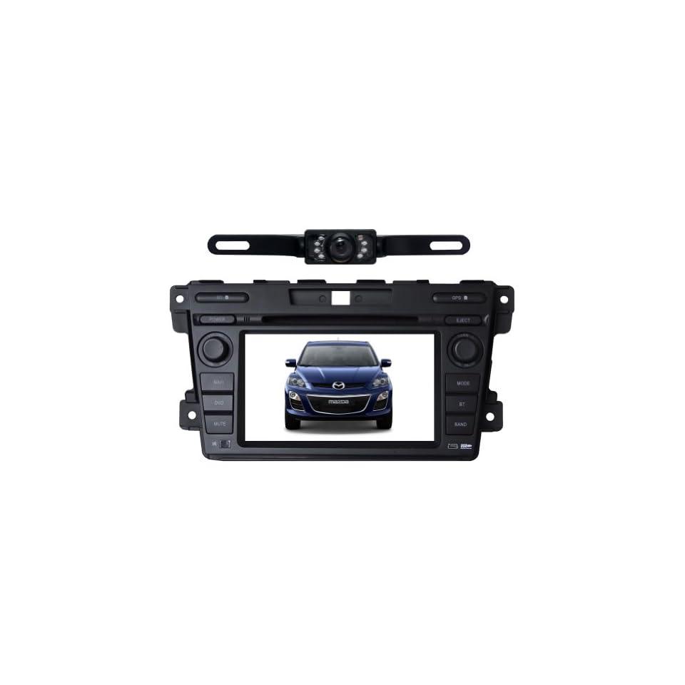 Tyso For MAZDA CX 7 (2007 2011) HD 7 Car DVD GPS Navigation Rear Camera Bluetooth Ipod Free Map CD7023R