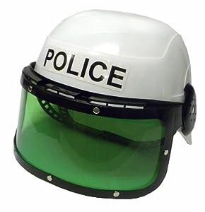 Child Police Motorcycle Cop Helmet & Visor