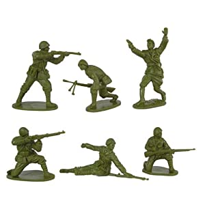 Amazon.com: WWII - Romanian Infantry Plastic Army Men: 12 ...