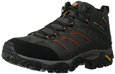 Merrell Mens Moab Mid Gore-Tex Hiking Boot by Merrell
