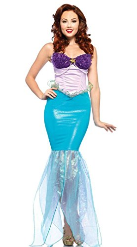 Halloween women lovely lady cosplay MERMAID costume Dress up Stage Costume Outfit