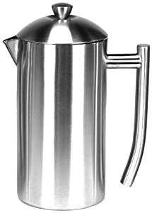 Frieling Brushed 18/10 Stainless Steel French Press, 23-Ounce