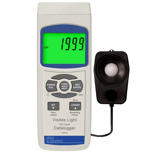 Buy Digital Light Meter - SD Card Datalogger | Sper Scientific