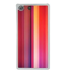 Multicolour Pattern 2D Hard Polycarbonate Designer Back Case Cover for Sony Xperia M5 Dual :: Sony Xperia M5 E5633 E5643 E5663