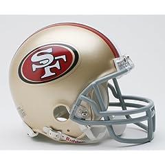 NFL San Francisco 49ers Replica Mini Football Helmet by Riddell