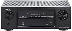 DENON AVR-X520BT 130W PER CH 5.2-CH AV RECEIVER WITH BLUETOOTH, HDCP 2.2, 4K UHD & 3D Pass-Through