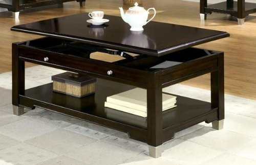 Lift top coffee tables best rated for Top rated coffee tables