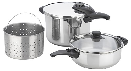 Fagor Innova 5 Piece Pressure Cooker Set, Stainless Steel (Fagor Chef Pressure compare prices)