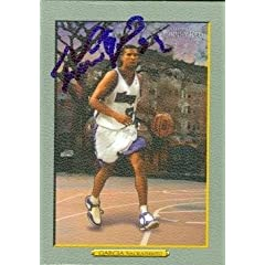 Francisco Garcia Autographed Hand Signed Basketball Card (Sacramento Kings) 2006... by Hall of Fame Memorabilia