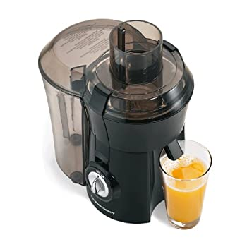 Hamilton Beach Big Mouth Juice Extractor - 67601 Looking for an ideal juice drink that's fresh, free of preservatives and tastes 10 times better than store-bought juices? Take the plunge and go with the Big Mouth Juice Extractor from Hamilton Be...