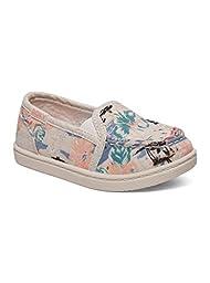 Roxy TW Lido III Slip On Shoe (Toddler), Blue Surf, 10 M US Toddler