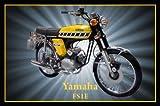 Yamaha FS1E Fizzy Motorcycle Jumbo Fridge Magnet