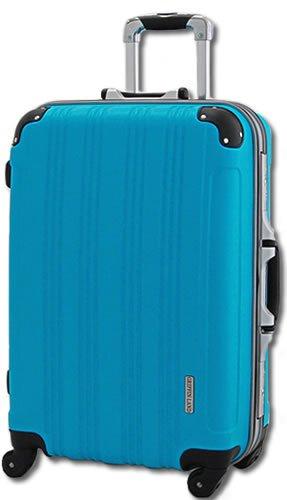 TSAロック搭載 スーツケース キャリーバッグ DL21001 マット Kingdom ターコイズ S 小型 (2~4日用)