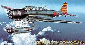 Hasegawa 1:48 - (09176) Nakijima B5N2 Type 97 Carrier Attack Bom - H-JT76