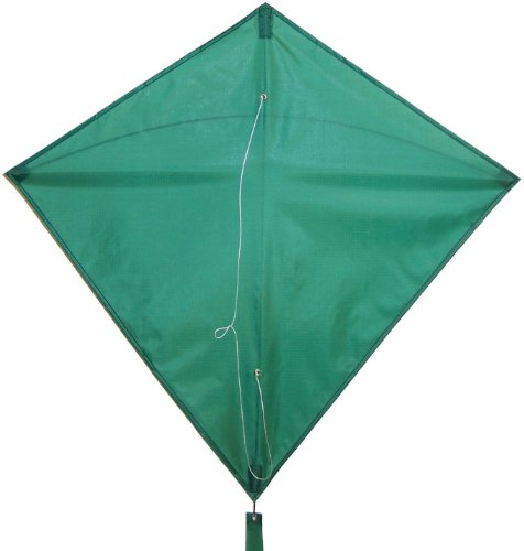 In the Breeze Green Diamond Kite, 30-Inch