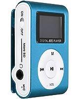 ELEGIANT MINI LECTEUR MP3 ECRAN LCD 8 GO Lecteur Radio FM numérique carte TF bleu (pas de carte TF)