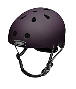 Nutcase Purple Heart Matte Bike Helmet, Large X-Large (61 cm-64 cm) by Nutcase