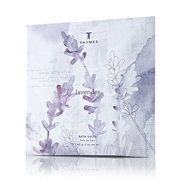 The Thymes Lavender Bath Salts Packet - 2 oz. (Thymes Bath Salts compare prices)