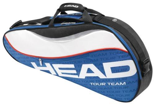 HEAD Tour Team Pro Tennis Bag, Blue/White/Red