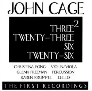 Three2, Twenty-Three, Six, Twenty-Six
