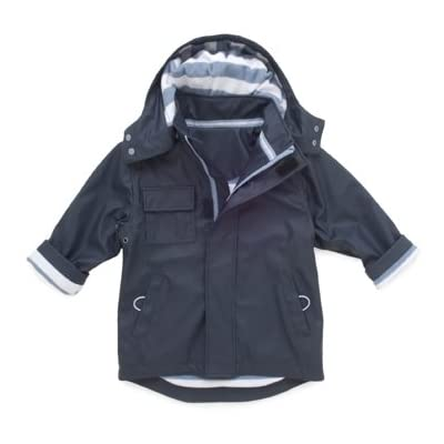 Hatley Boys Splash Waterproof Jacket - Blue