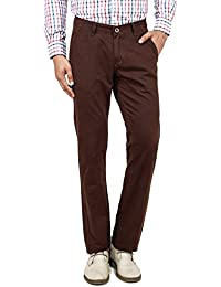 100% Cotton Regular Fit Non Stretchable Mens Punto Trouser By Uber Urban