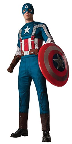 Morris Costumes RU886328XL Capt America Retro Adult Xl