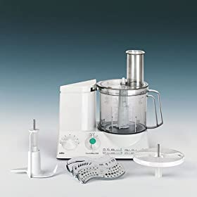 "Braun K600 ""220 Volts"" Heavy Duty Food Processor- WILL NOT WORK IN THE USA"