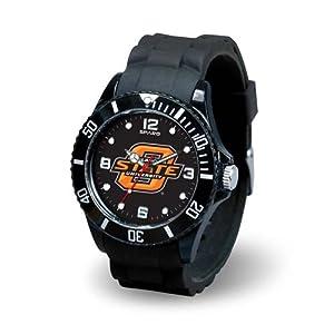 NCAA Oklahoma State Cowboys Spirit Watch, Black by Rico Tag