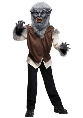 Wolf Man Kids Costume