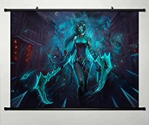 Amazon.com: Game LoL League of Legends Series Home Decor Wall Scroll