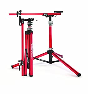 Feedback Sports Sprint Work Stand, Red by Feedback Sports