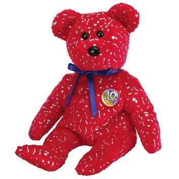 ty-beanie-babies-decade-red