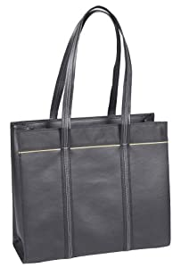 Microsoft Manhattan Ladies Tote for 15-Inch Laptops (Tan Trim)