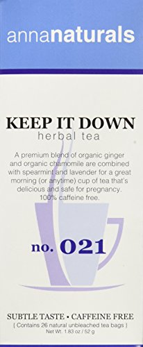 Anna Naturals - Keep it Down Tea for Pregnancy - Helps Prevent Morning Sickness - 7 oz (Anna Naturals compare prices)