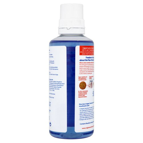 Colgate 400ml sensitive pro relief mouthwash nakosite - Unusual uses for mouthwash ...