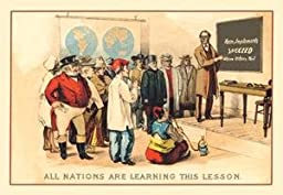 Paper poster printed on 20 x 30 stock. Farm Implements Succeed Where Others Fail: All Nations Are Learning This Lesson