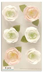 Martha Stewart Crafts 3 Dimensional Stickers Bouquet Flowers Pink By The Package