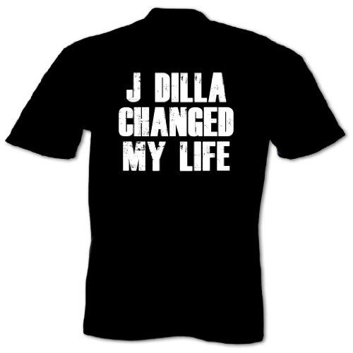 Bang Tidy Clothing Men'S J Dilla Changed My Life T Shirt Black Xxl
